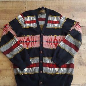Pendleton Portland Collection Cardigan Sweater Med